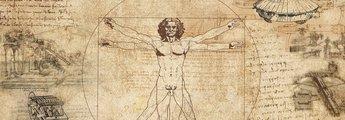 Leonardo da Vico-Collage: Quadratur des Kreises