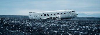 Flugzeugwrack